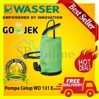 Pompa Celup Wasser WD 131E Submersible pump with Filter Diskon