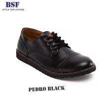 Pedro Black - Sepatu Derby Formal Pria - Footstep Footwear c04ed60b07