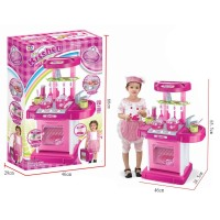 Terlaris BESTSELLER! MSM Mainan Kitchen Set Koper Masak Masakan 2 IN 1