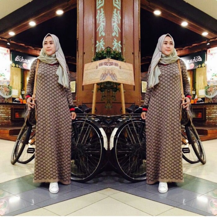 Gamis Import Rajut Gucci Maxi Dress Gucci Rajut Import