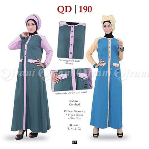 Dress Gamis Qirani Model Qd