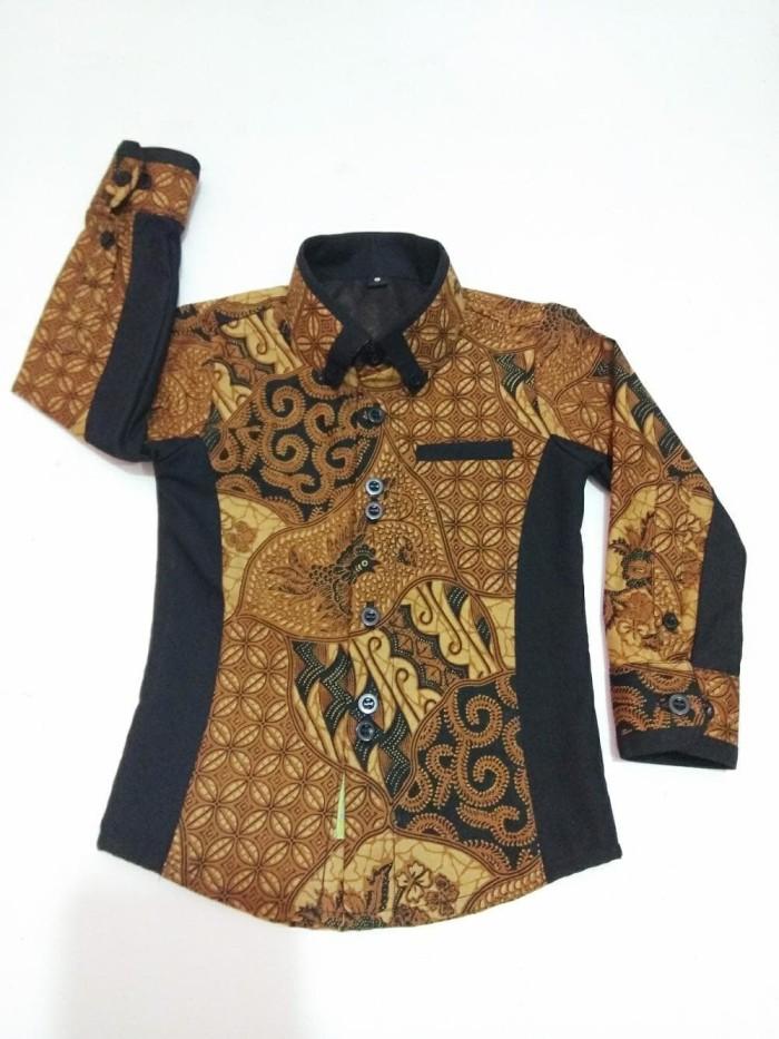 30 Model  Baju Batik  Kombinasi  Anak  Cowok  Fashion Modern
