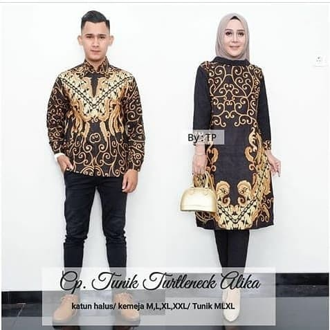 Model Baju Couple Tunik 9
