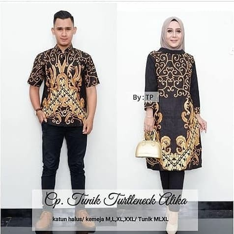 Model Baju Couple Tunik 24