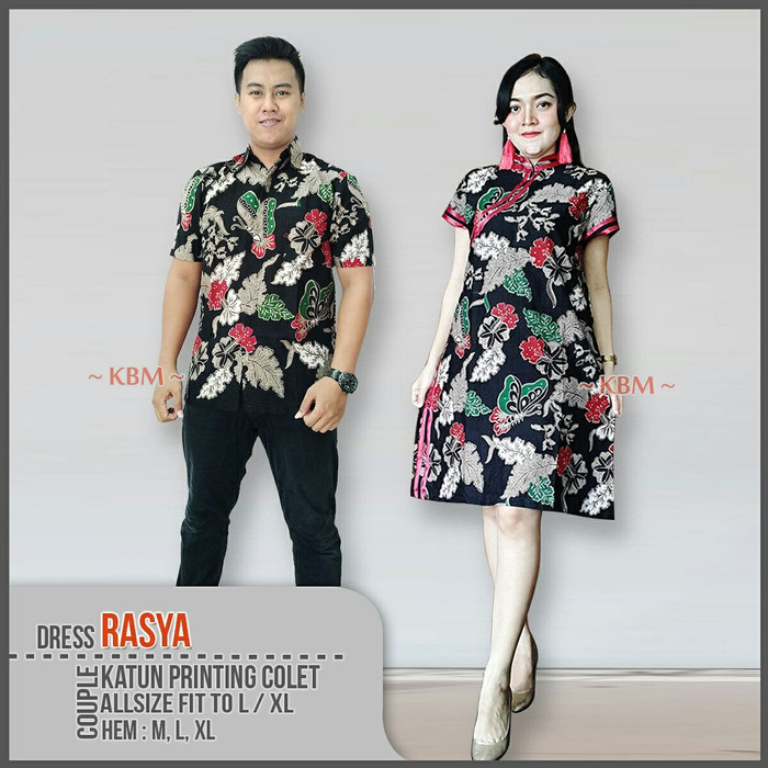 Model Baju Couple Tunik 30