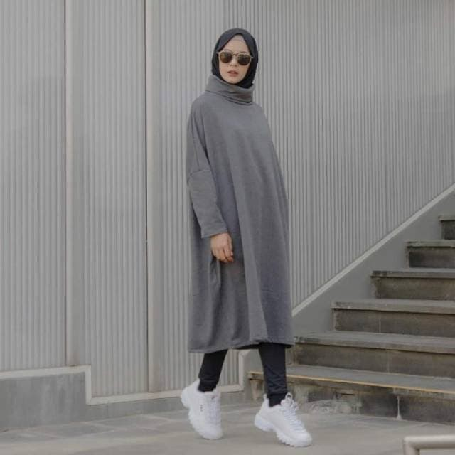 Model Baju Tunik Nissa Sabyan 8