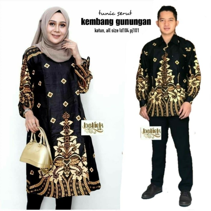 Model Baju Couple Tunik 18
