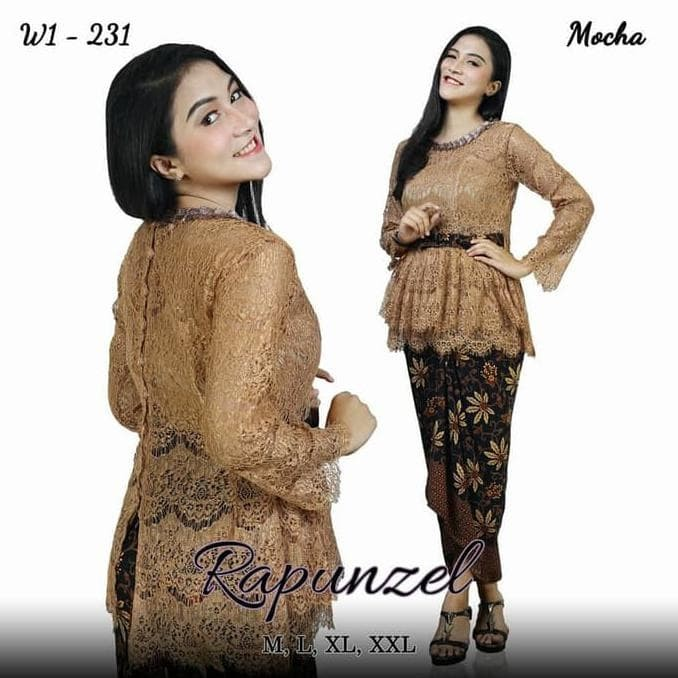 Model Baju Brokat Pesta Rok 17
