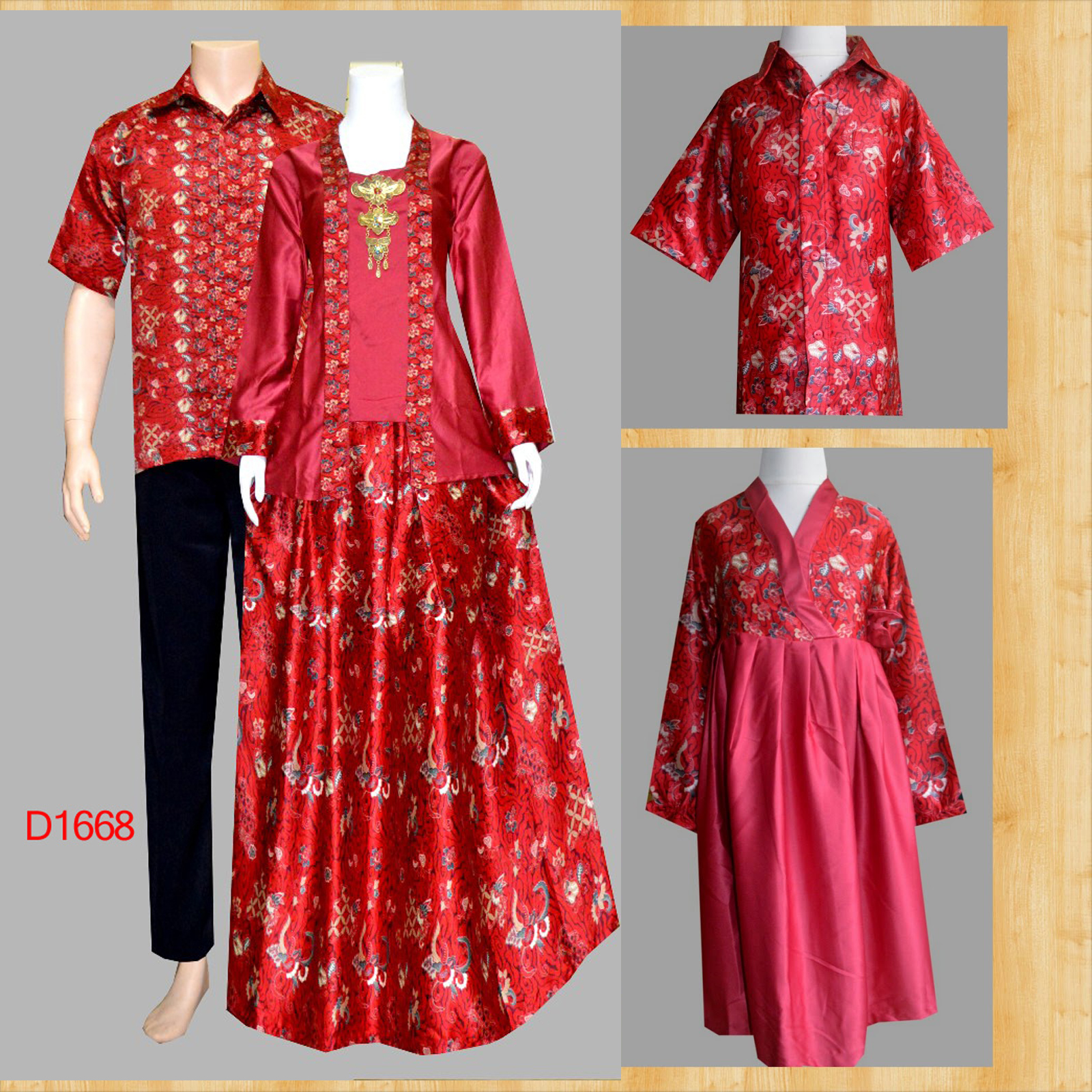 Image Result For Model Gamis Sarimbit Batik Kombinasi