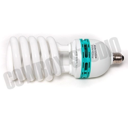 Kaezi 85 Watt Studio Light Bulb 5500k Cfl Day Light