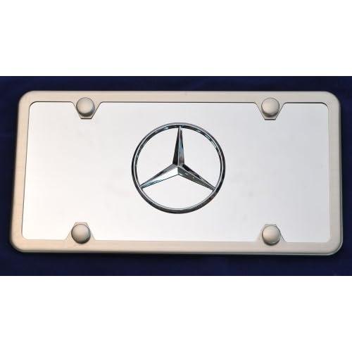 Plates Mercedes Logo