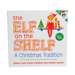 Amazon Com Elf On The Shelf A Christmas Tradition Light