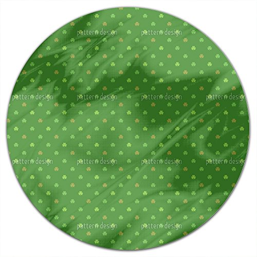 St Patricks Day Round Vinyl Tablecloth
