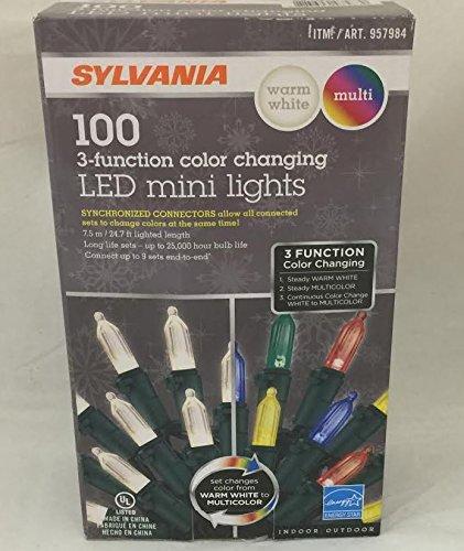 Christmas Light Bulbs Change Color