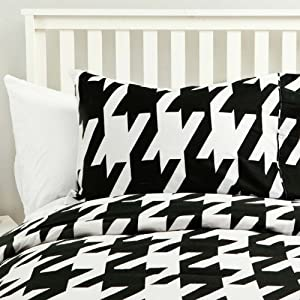 Amazon Com Houndstooth Fairy Duvet Set Twin Twin Xl