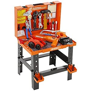 Amazon Com The Home Depot Carrying Case Workbench Toys