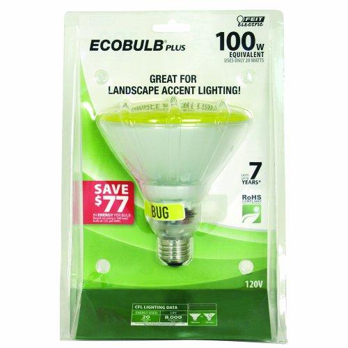 Yellow Light Bulb Bugs