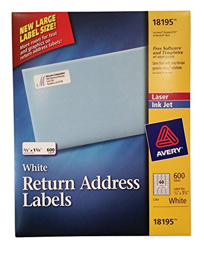 Address Labels Avery 18195