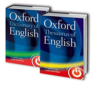 Oxford Dictionary and Thesaurus of English 2 Book Set ...