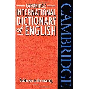 Cambridge International Dictionary of English: Paul ...