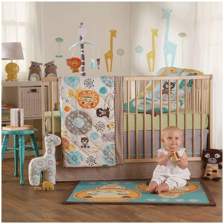 Lolli Living Zig Zag Zoo Baby Bedding Collection Baby