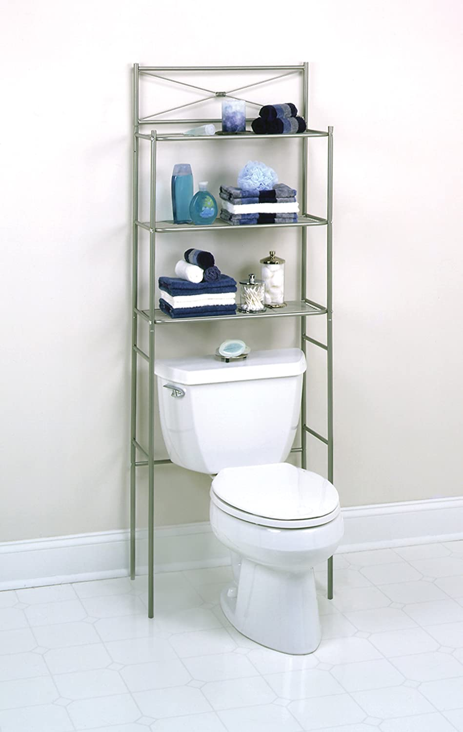 Zenith Bathstyles Spacesaver Bathroom Storage Over the ...