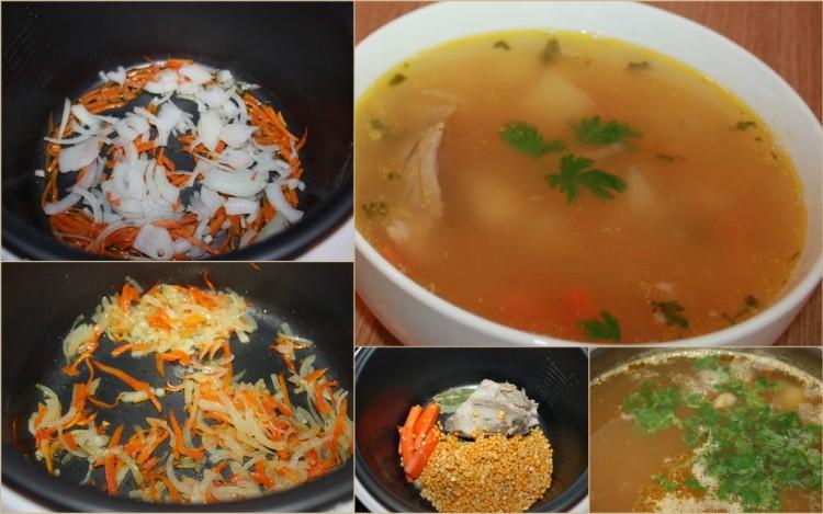 Erwt nymberry soep