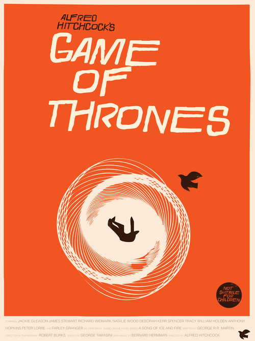 Game Of Thrones Art Prints In The Style Of Saul Bass