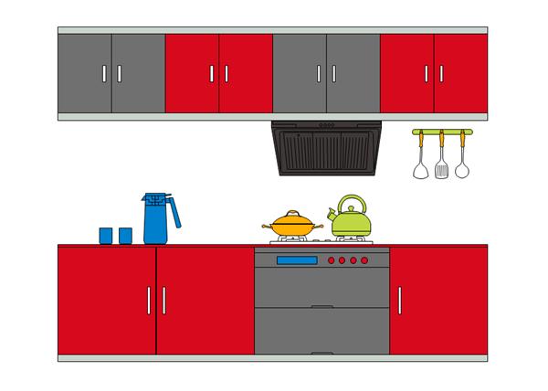 Kitchen Layout Design Template