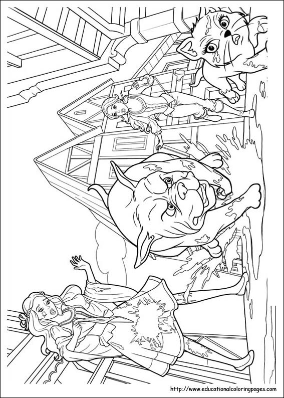 Barbie and 3 musketeers coloring pages educational fun, superman coloring pages