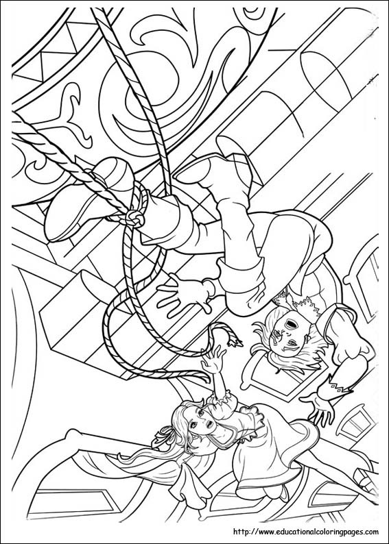 Barbie and 3 musketeers coloring pages educational fun, dragon coloring pages