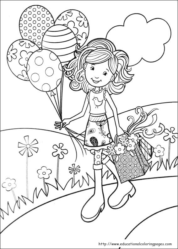 Girls Pages Coloring Year Old Online 10