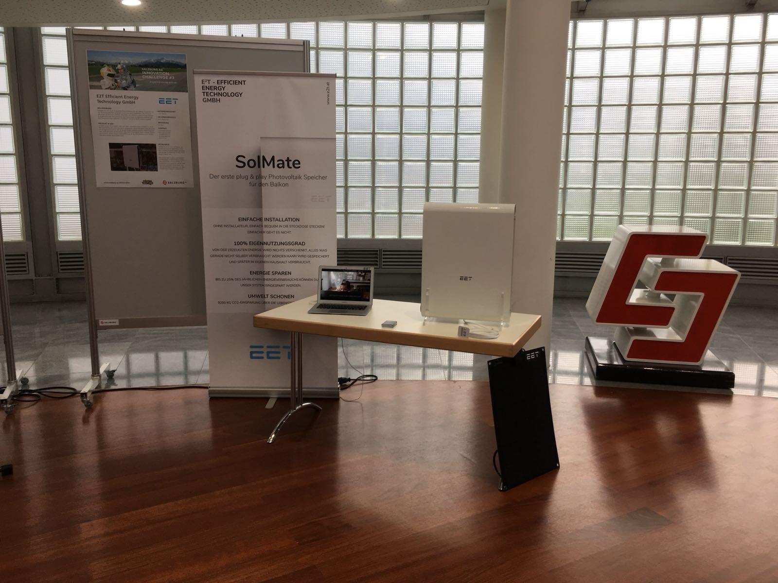 SolMate bei der Innovation Challenge der Salzburg AG - EET
