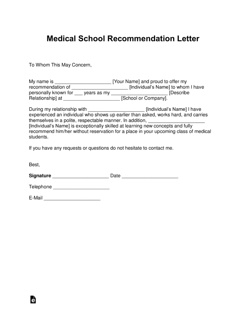 Sample introduction letter to referring physicians lvelegant medical letter of re mendation template with s les word eforms fillable forms spiritdancerdesigns Choice Image