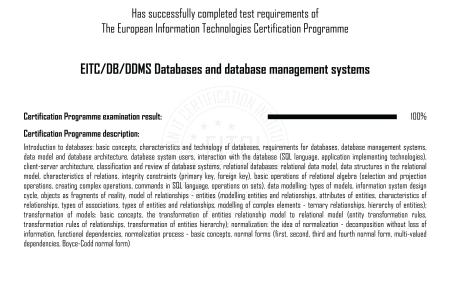 database management certification » Free Professional Resume ...