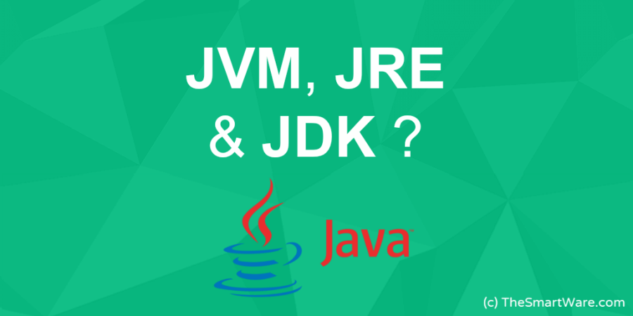 What is JVM, JRE & JDK ?