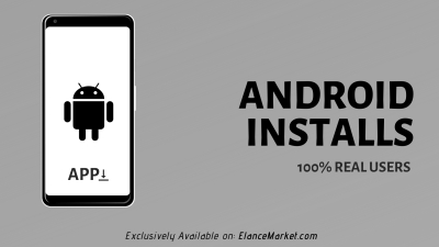 Buy Android Installs · Google Play Store · 100% Real Users