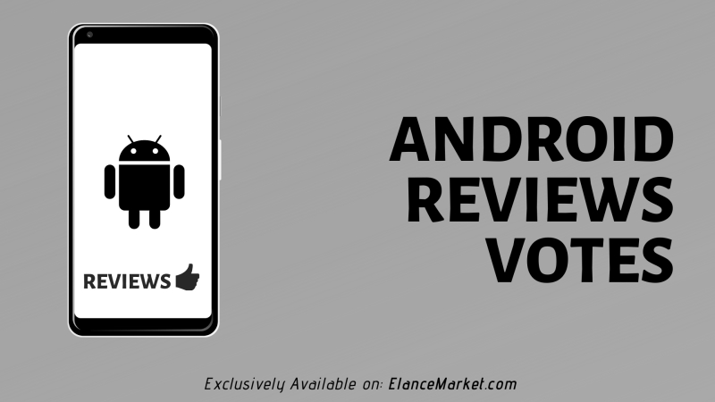 Buy Android Review Votes · Google Play Store · 100% Real Users
