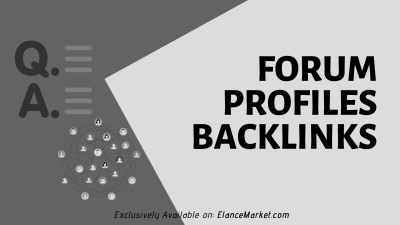 Buy Forum Profiles Backlinks