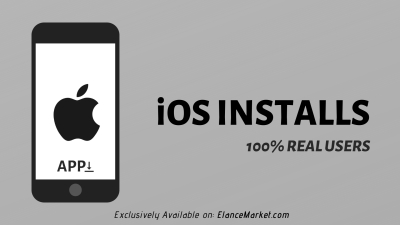 Buy iOS Installs · Apple App Store · 100% Real Users