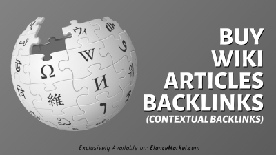 Buy Wiki Articles Backlinks (contextual backlinks)