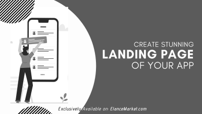 Create Stunning Landing Page of your App
