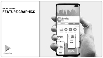 Design Professional App Feature Graphic