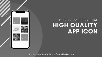 Design Professional High Quality App Icon