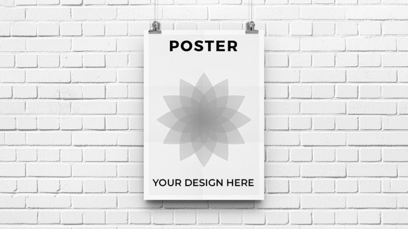 Design Unique High-Quality Print Ready Vector Poster in High-Resolution for your Brand / Business