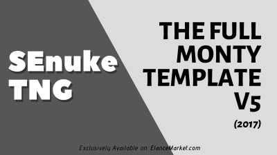 The Full Monty Template V5 (2017) - SEO Campaign