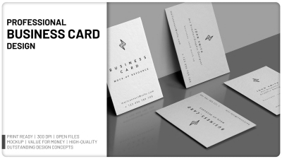Will design Professional Business Card