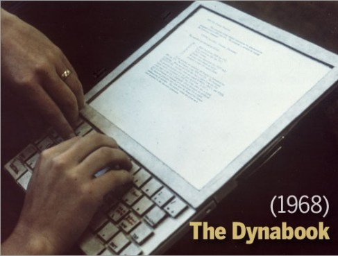 Dynabook By Alan Kay 1968 The First Tablet El Antiguo