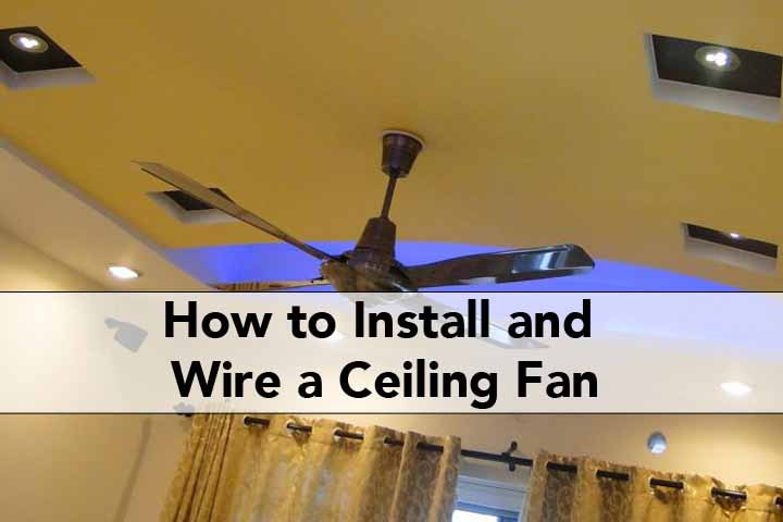 How to Install and Wire a Ceiling Fan     Remote Light Switch     View Larger Image How to Install and Wire a Ceiling Fan   Remote Light  Switch