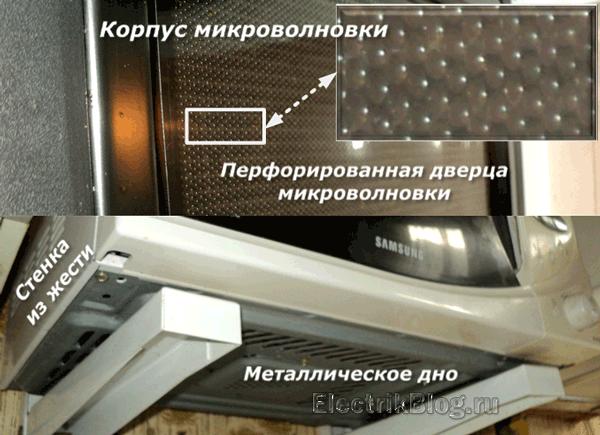 Корпус микроволновки